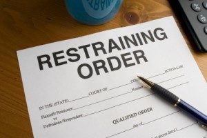 Served a Temporary Restraining Order in NJ